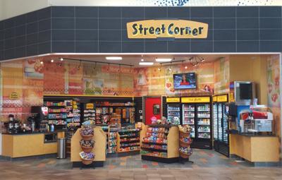 Street Corner Interior