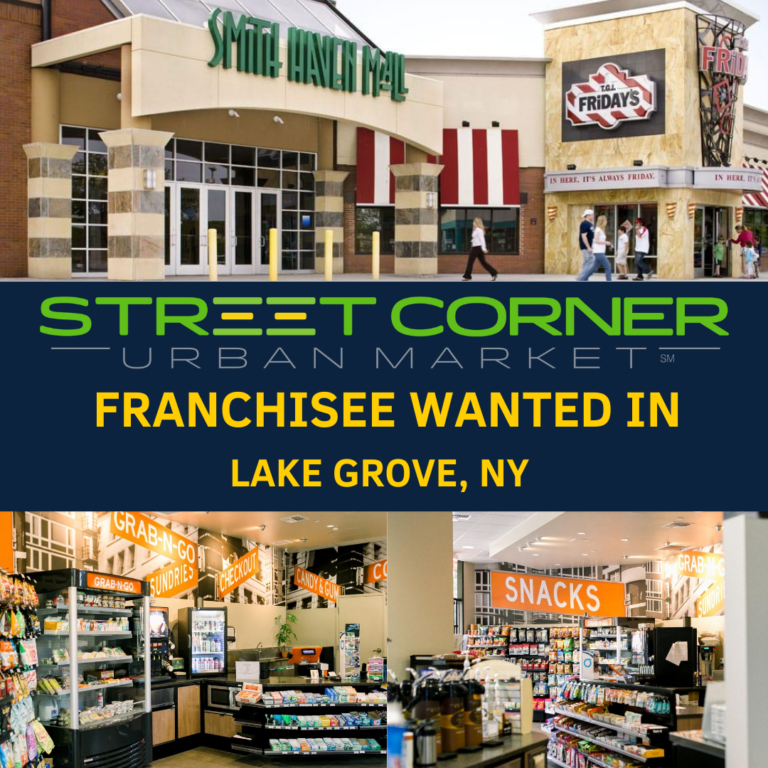 Franchise for sale in Lake Grove, NY.